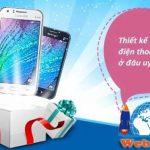 thiết kế website bán điện thoại giá rẻ chất lượng nhất Việt Nam