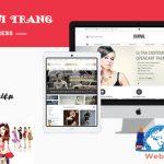 Thiết kế website thời trang giá rẻ cùng webbachthang
