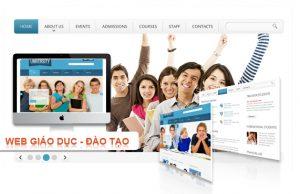 thiết kế website giáo dục là một hình thức quảng bá cơ sở giáo dục