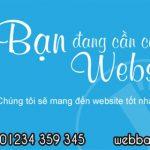 Thiết kế website máy vi tính giá rẻ chỉ có tại Web Bách Thắng