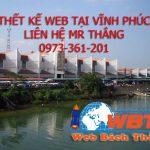 Thiết kế website giá rẻ Vĩnh Phúc