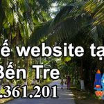 Thiết kế website giá rẻ Bến Tre