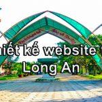 Thiết kế website giá rẻ Long An chuẩn seo