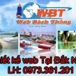 Thiết kế website giá rẻ Đắk Nông tại Bách Thắng