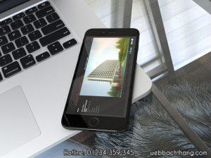 Thiết kế website Web Bách Thắng