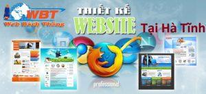 Thiết kế website giá rẻ Hà Tĩnh