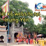 Thiết kế website giá rẻ Hưng Yên