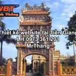 Thiết kế website giá rẻ tại Tiền Giang