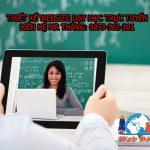 Thiết kế website dạy học trực tuyến giá rẻ uy tín của Web Bách Thắng