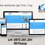 Thiết kế website giá rẻ tại phú thọ hỗ trợ nhiệt tình