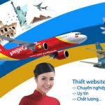 Thiết kế website giá rẻ bán vé máy bay chuyên nghiệp
