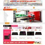 Thiết kế website giá rẻ bán đồ gia dụng đảm bảo chất lượng giá cả phải chăng