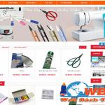 Thiết kế website bán máy khâu giá rẻ chuyên nghiệp