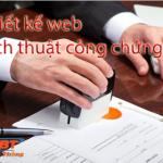 Thiết kế website dịch thuật công chứng uy tín, đảm bảo chất lượng tốt nhất