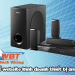 Thiết kế website bán loa đài thiết bị âm thanh chuyên nghiệp uy tín chất lượng