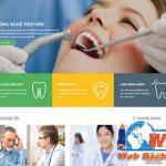 Thiết kế website nha khoa chuyên nghiệp chuẩn seo