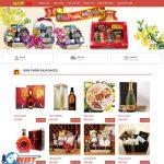 Thiết kế website giá rẻ bán hàng tết – bánh kẹo mứt tết