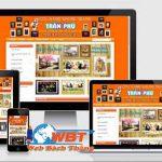 Thiết kế website bán khung tranh chuyên nghiệp đẹp mát mắt