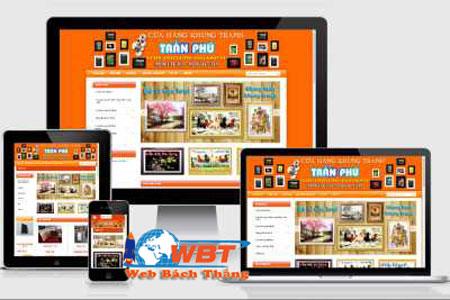 thiet-ke-website-ban-khung-tranh