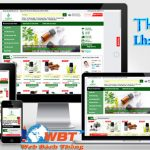Thiết kế website bán tinh dầu giá rẻ bảo hành website trọn đời