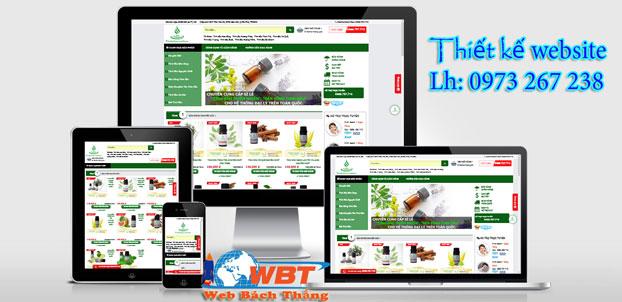 thiet-ke-website-ban-tinh-dau